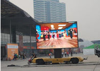 IP65 Super Slim 8mm Hanging Led Display Screen Outdoor Energy Saving