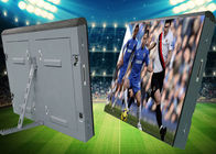 High Resolution Advertising Stadium Led Display Screen Iron Soft Mask Cabinet