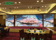 Wall Mounted Indoor Full Color Led Display Hd P4 1500cd/m2 Brightness 3 Years Warranty