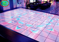 High Definition Full Color LED Dance Floor P6.25 Induction Electronic Video Display