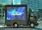 Easy Installation Mobile Truck Led Display Screen Outdoor P10 10000 Dots / Sqm