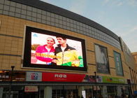 P6 Outdoor Advertising LED Screens Full Color Video IP65 SMD3535 For Rental Usage