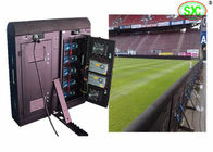 Football Stadium Led Perimeter Advertising Boards P10 8000cd/㎡ WIFI Control