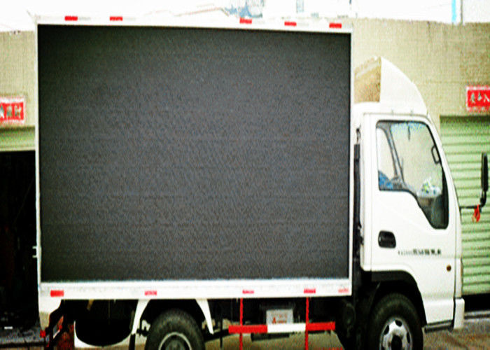Outdoor / Indoor Full Color Stage LED Screen Waterproof For Advertising , 60Hz Frame Rate