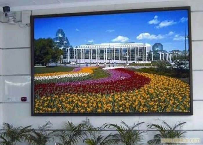 P3 Indoor LED Advertising Displays Led Video Screen With Steel Cabinet