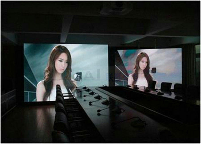 Meanwell Power Supply LED Display Screen Rental Indoor With 2500nits Brightness , High Density