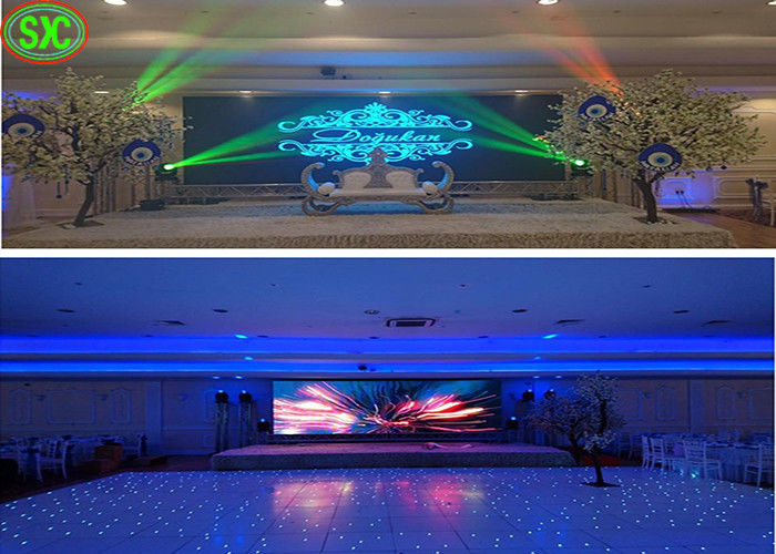 P3 SMD LED Screen Nationstar Light Type Stage Background Display CE Approved