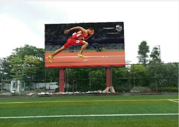 Nova System Static P20 Outdoor Full Color LED Display For Stadium , Airport , Shopping Mall