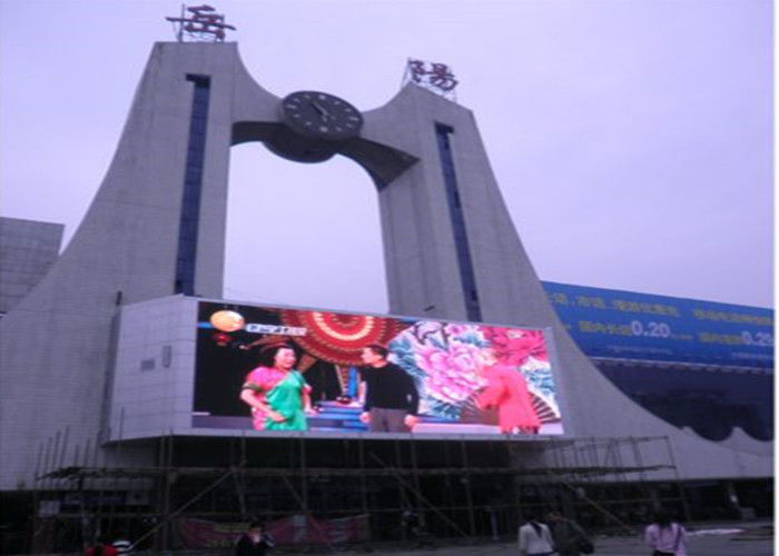 Video Advertising Led Display Screen P10 , Outdoor Led Module Board Waterproof