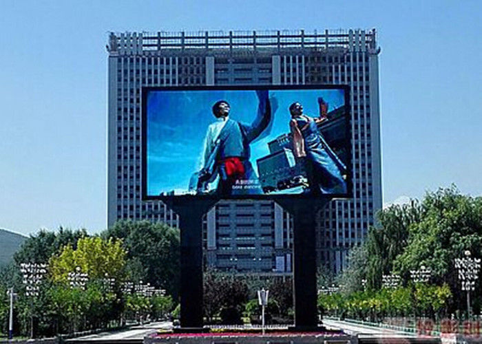 Waterproof Seamless P8 P10 Outdoor Full Color LED Display Advertising Led Screen