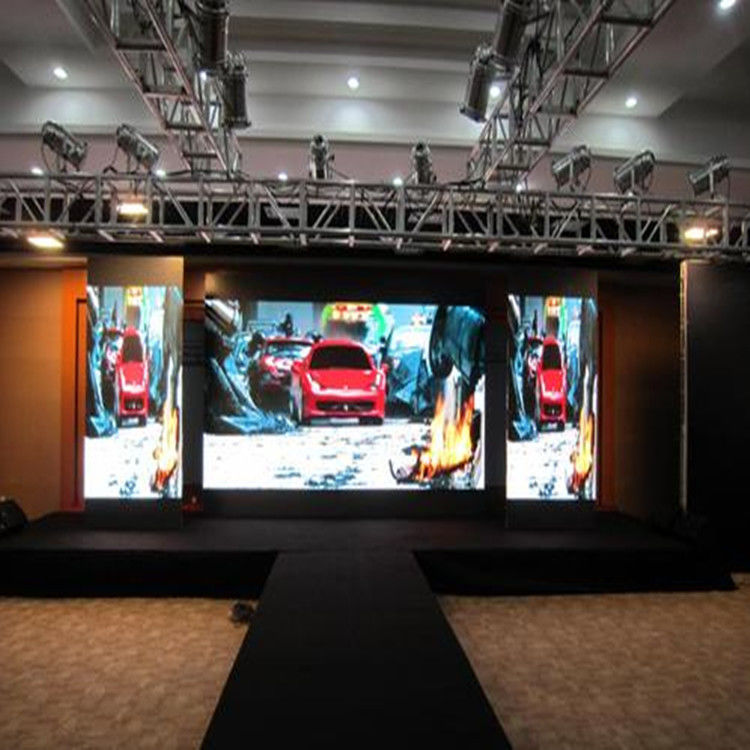 SMD P4 Indoor Advertising Led Display Screen , Led Video Wall Screen Ip27