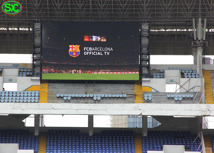 Basketball Bullfighting Stadium LED Display P10 Indoor Front Maintenance