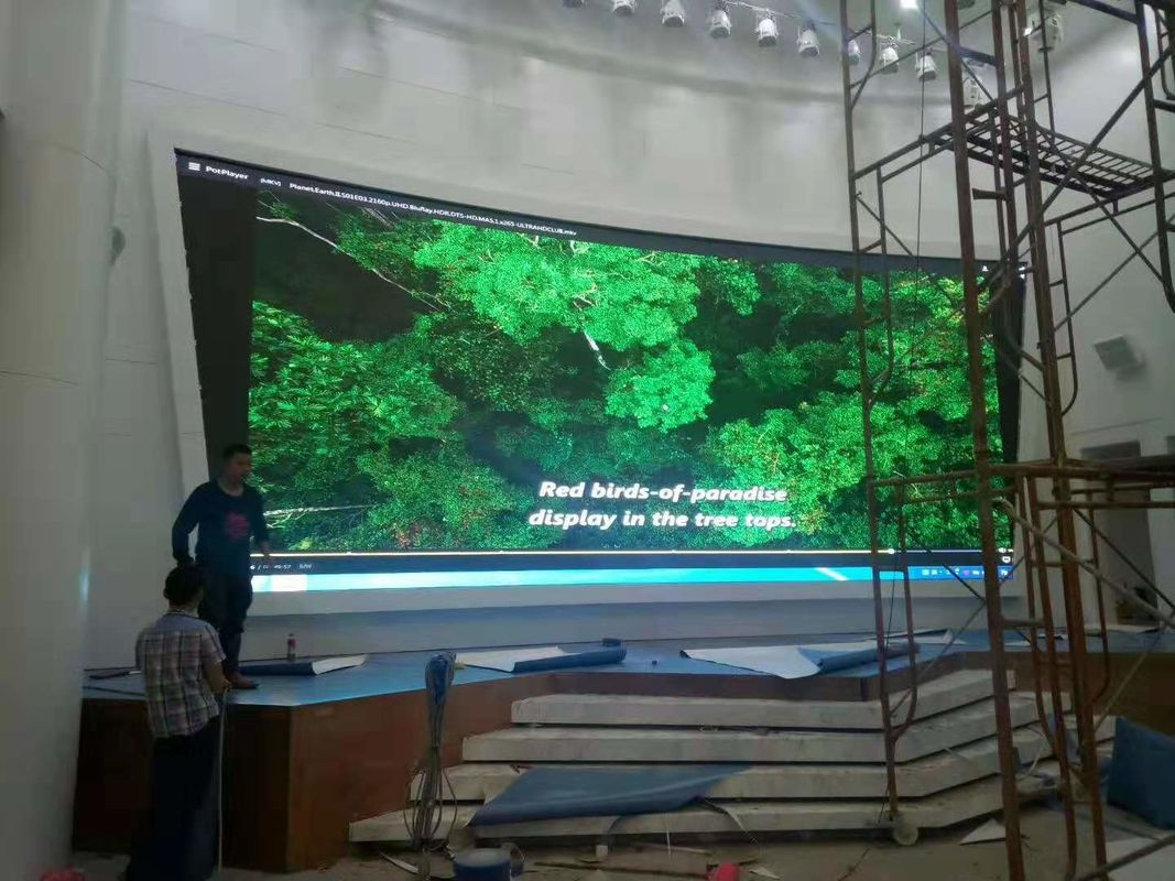High Resolution Indoor Full Color LED Display , SMD LED Panel 2020 Lamp Size