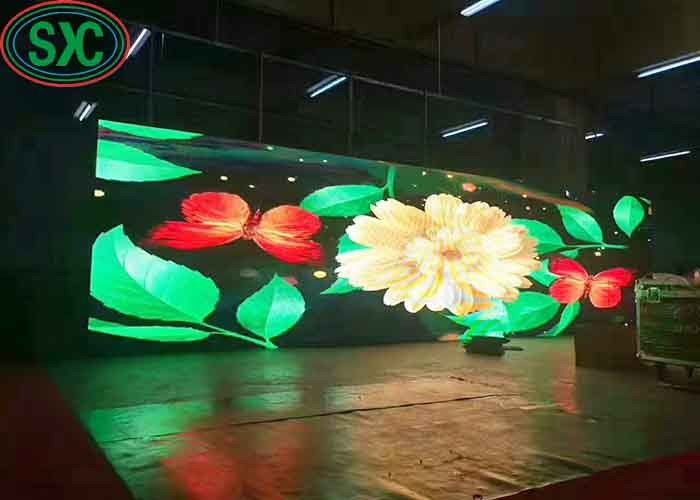Giant Baseball Stadium Stage P6 Outdoor Full Color LED Display SMD2727 Type
