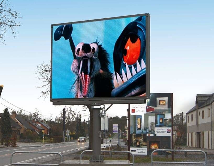 LED Billboards Full Color Outdoor Led Display Screen P6 P8 P10 P16 SMD Advertising Billboard for Fixed Installation