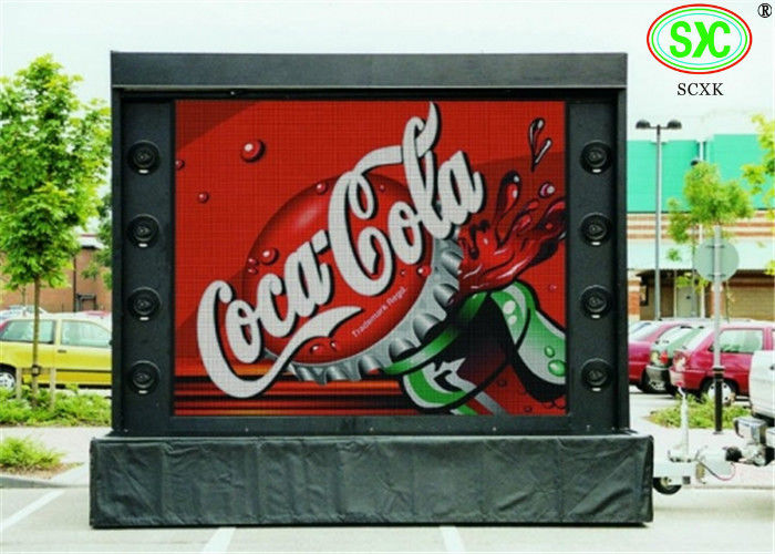 Dustproof P16 High Resolution Commercial Outdoor Electronic LED Signs IP 67