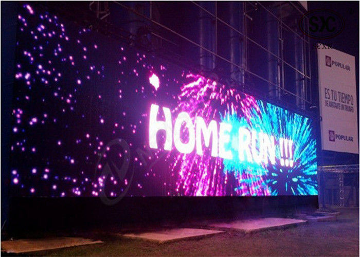 Exterior Electronic Full Color P25  Programmable Outdoor LED Video Display Board