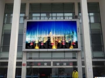 Trung Quốc P4 Clear Images Advertising Led Screens , Hanging Led Video Screen Lightweight 1/8 scan 1R1G1B nhà máy sản xuất