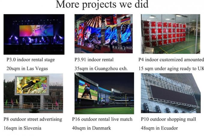 P20 edge protect football stadium perimeter led screen display